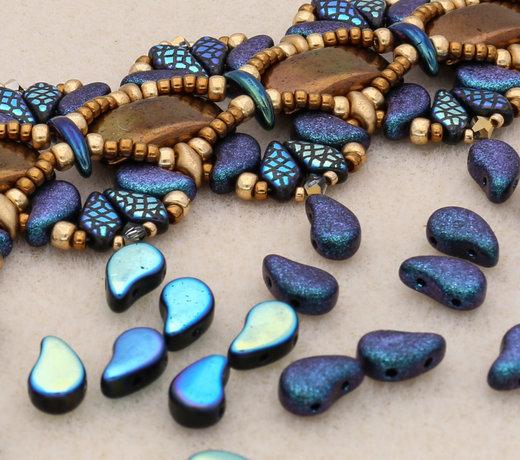 Paisley Duo Beads