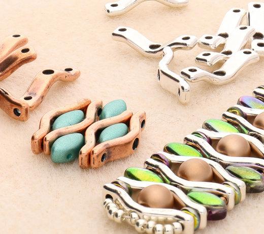 BowTrio – Perlen aus Zamak-Metall