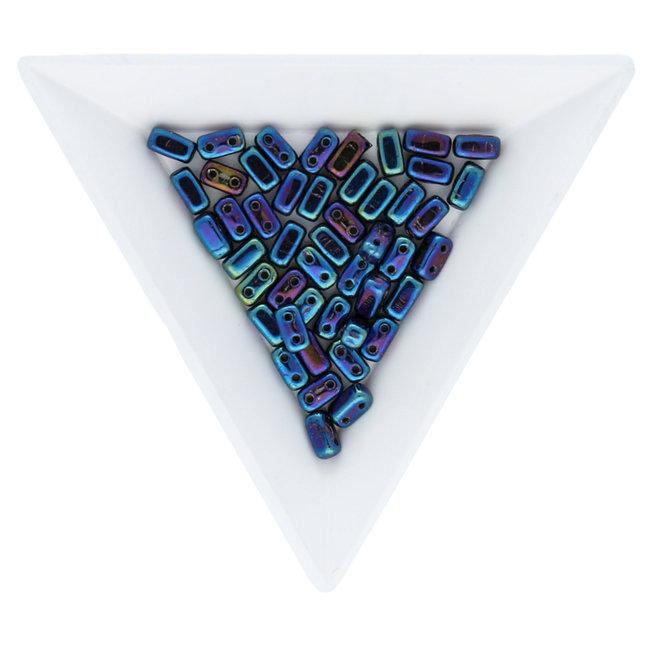 Bricks CzechMates 6x3 mm - Iris Blue