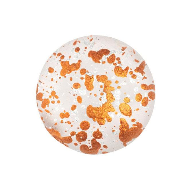 Cabochon par Puca® - 18 mm - Crystal Mat Tweety Gold