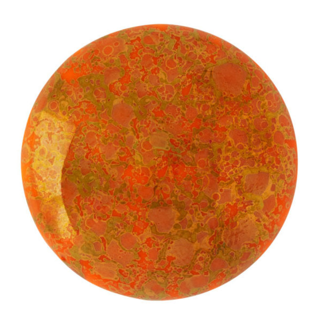 Cabochon par Puca® - 25 mm - Opaque Hyacinth Bronze