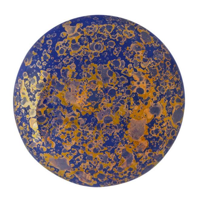 Cabochon par Puca® - 25 mm - Opaque Sapphire Bronze