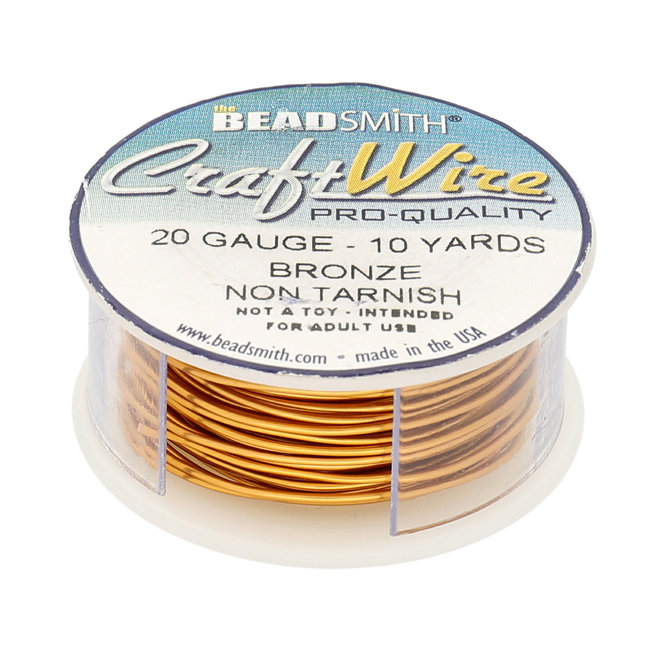 Filo metallico: Craft Wire – 20 Gauge – Bronze Non Tarnish