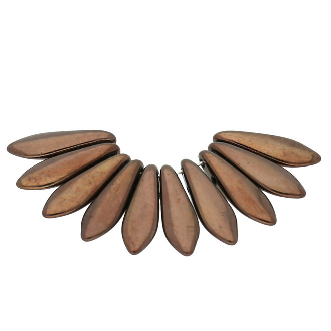Dagger Bead - Dark Bronze