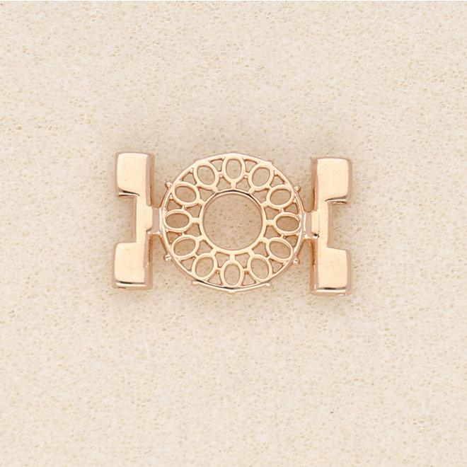 Elément de liaison Detis-Tila Bead Connector – Plaqué or rose