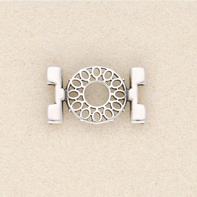 Verbindungselement Detis-Tila Bead Connector – Versilbert