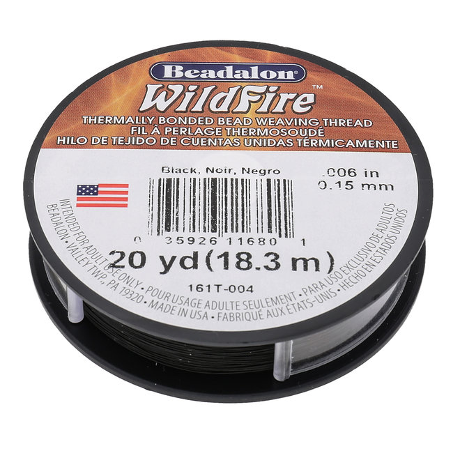 Perlenfaden Wildfire 6 lb - Black