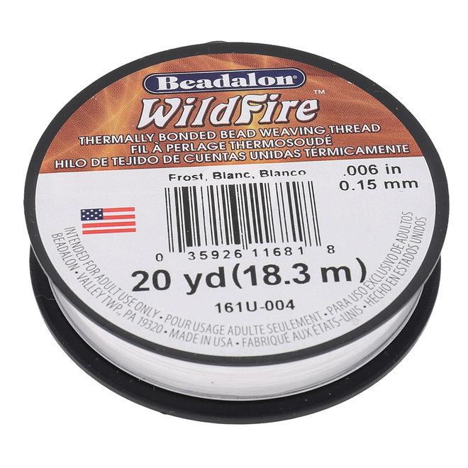Perlenfaden Wildfire 6 lb - Frost (18,3 m)