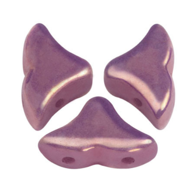 Hélios® par Puca® - Opaque Mix Amethyst/Gold Ceramic Look