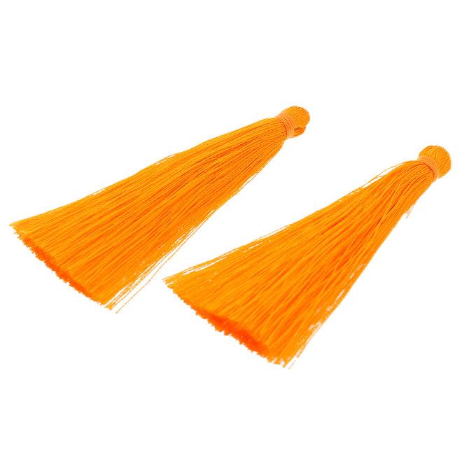 Quaste aus Nylon - Orange