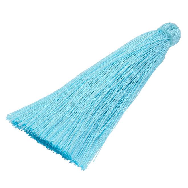 Quaste aus Nylon - Hellblau
