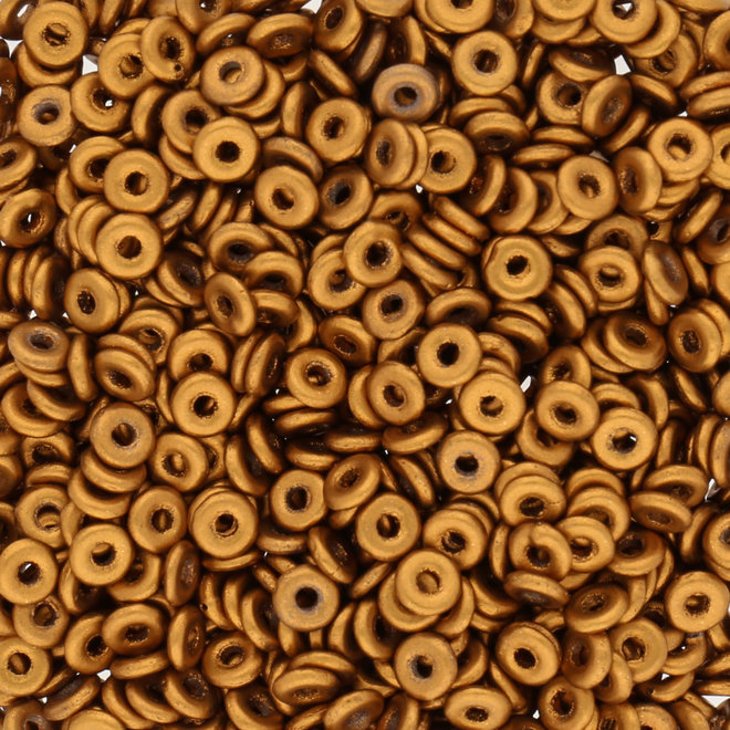 O Beads - Brass Gold