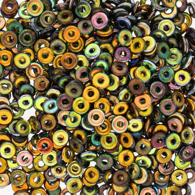 O Beads 3.8 x 1 mm - Magic Copper