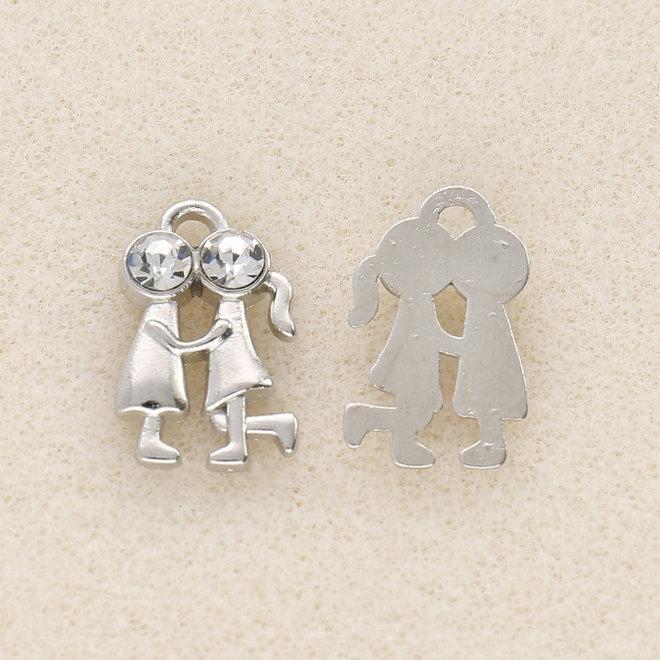 Charm-pendentif Couple