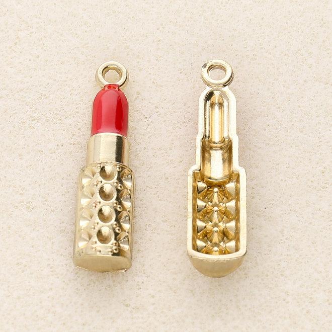 Charm-Anhänger Lippenstift