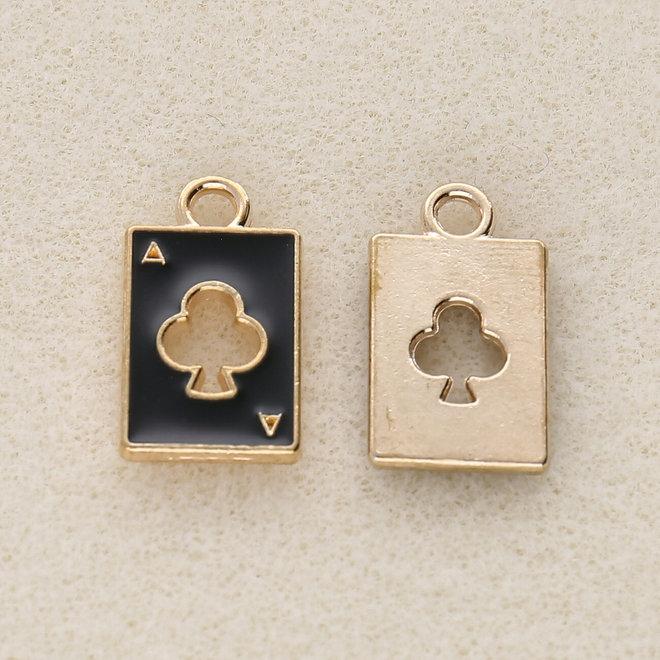 Charm-Anhänger Pokerkarte