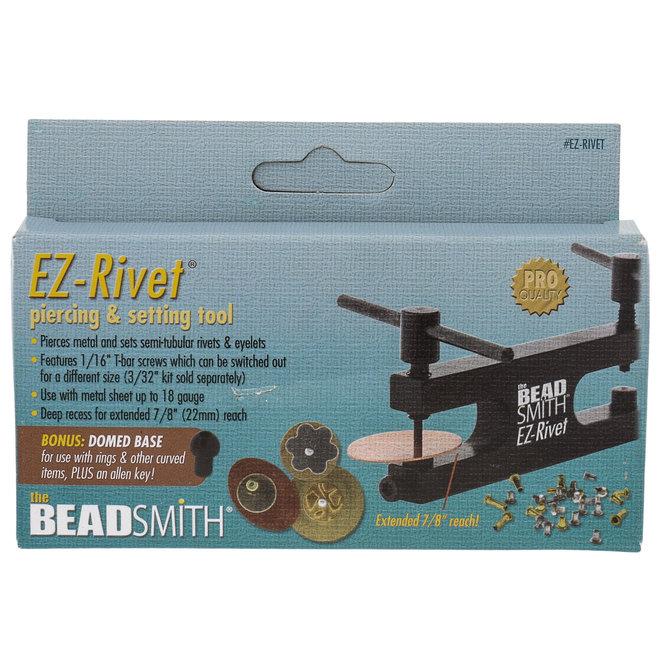 Beadsmith EZ-Rivet - fora il metallo e posiziona facilmente i rivetti