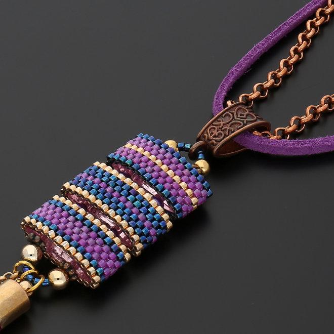 Gancio per pendente stile tibetano - rame