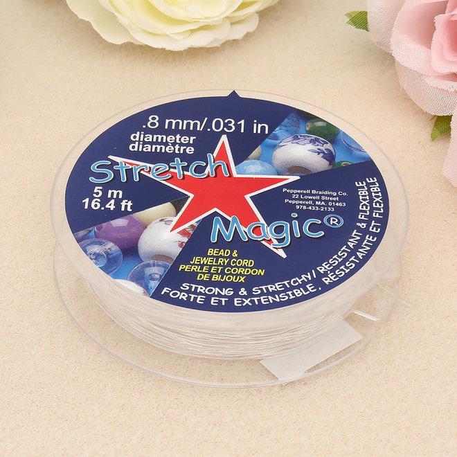 Stretch Magic 0.8 mm - trasparente