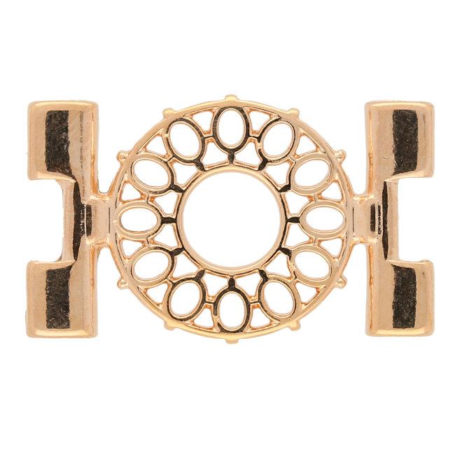 Verbindungselement Detis-Tila Bead Connector – Rosagold Vergoldet
