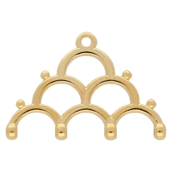 Lakos IV - 8/0 Bead Ending - 24K Gold Plate