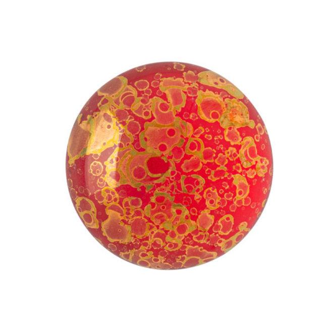Cabochon par Puca® - 18 mm - Light Siam Bronze