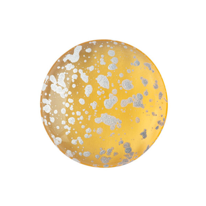 Cabochon par Puca - Light Topaz Splash Silver