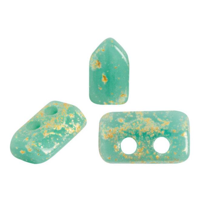 Piros® par Puca® - Opaque Green Turquoise Splash