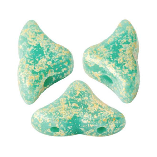 Hélios® par Puca® - Opaque Green Turquoise Splash