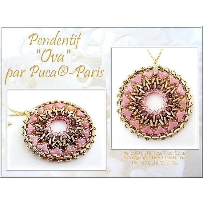Hélios® par Puca® - Light Rose Opal Splash