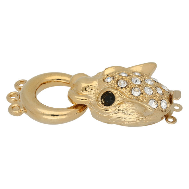 Claspgarten Neumann – Chiusura gioiello multifilo – 3 fili - dorato
