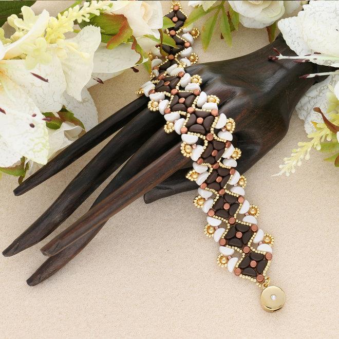 "Kit braccialetto ""Maiya"" par Puca® - Bronze"