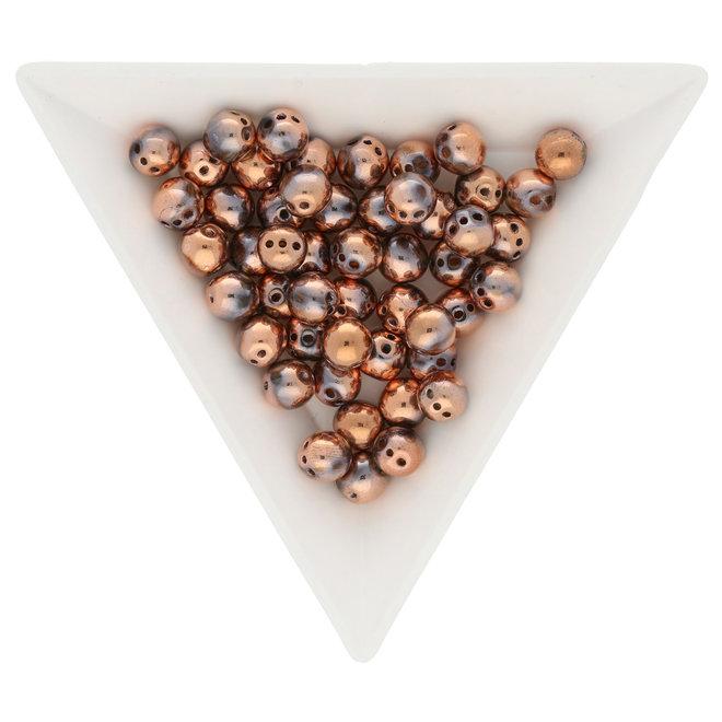 RounTrio 6 mm - Crystal Capri Gold Full