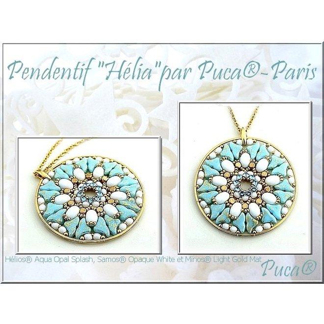 Hélios® par Puca® - Aqua Opal Tweedy