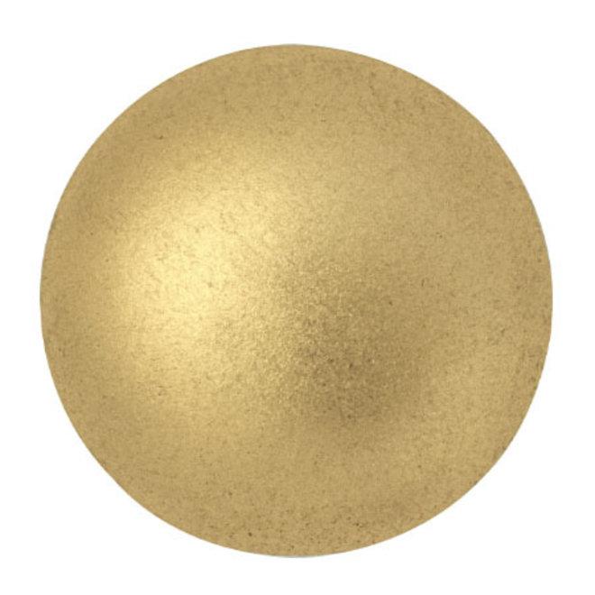 Cabochon par Puca® - 25 mm - Light Gold Mat