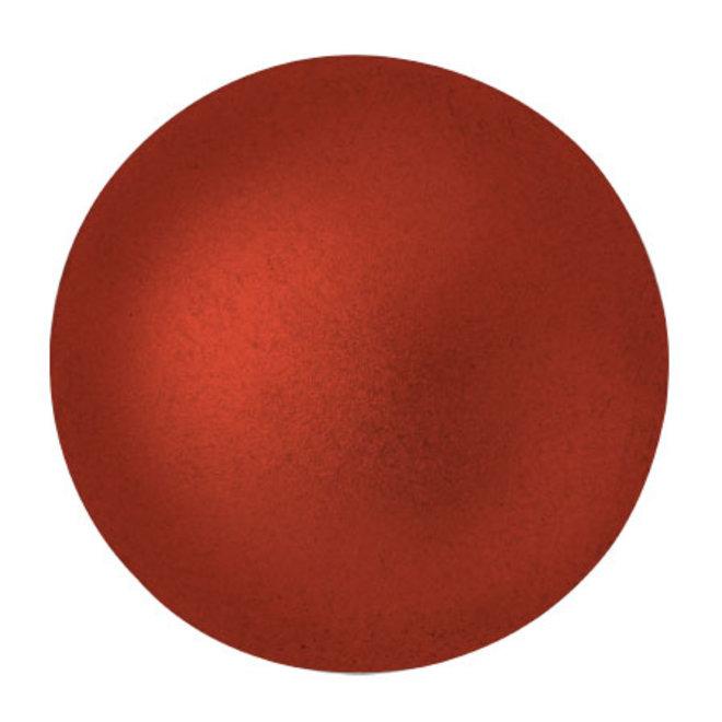 Cabochon par Puca® - 25 mm - Red Metallic Mat