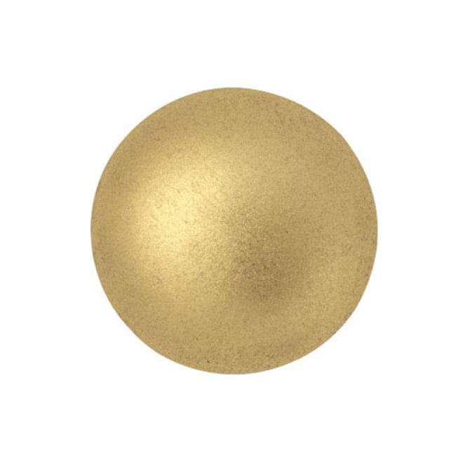 Cabochon par Puca® - 18 mm - Light Gold Mat