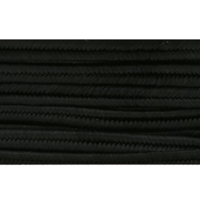 Cordon plat souple Pega pour Soutache 3 mm - Black
