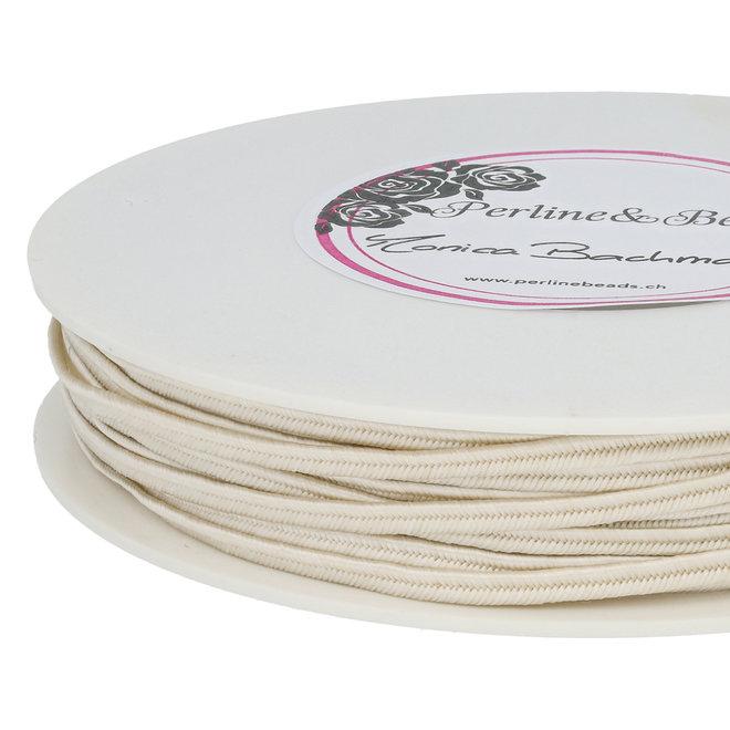 Cordon plat souple Pega pour Soutache 3 mm - Ivory