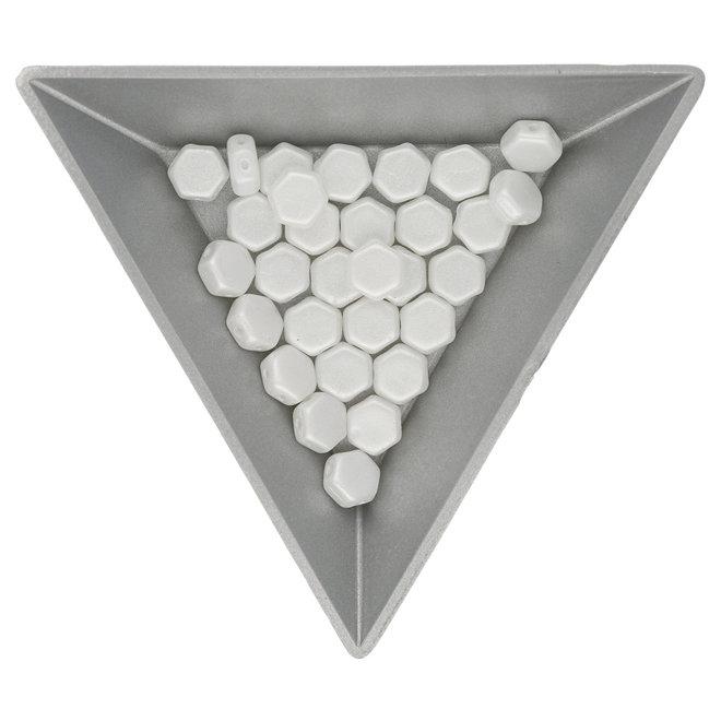 Honeycomb 6 mm – Pastel White