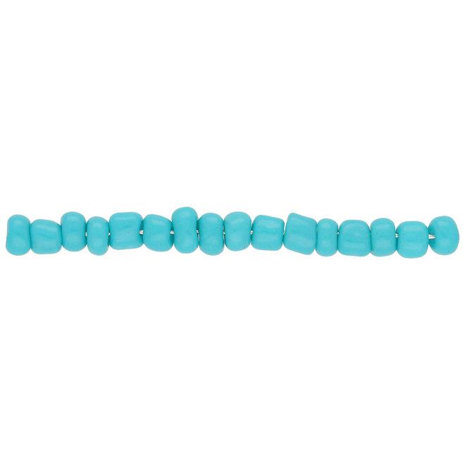 Perline Rocailles dimensione irregolare - turchese