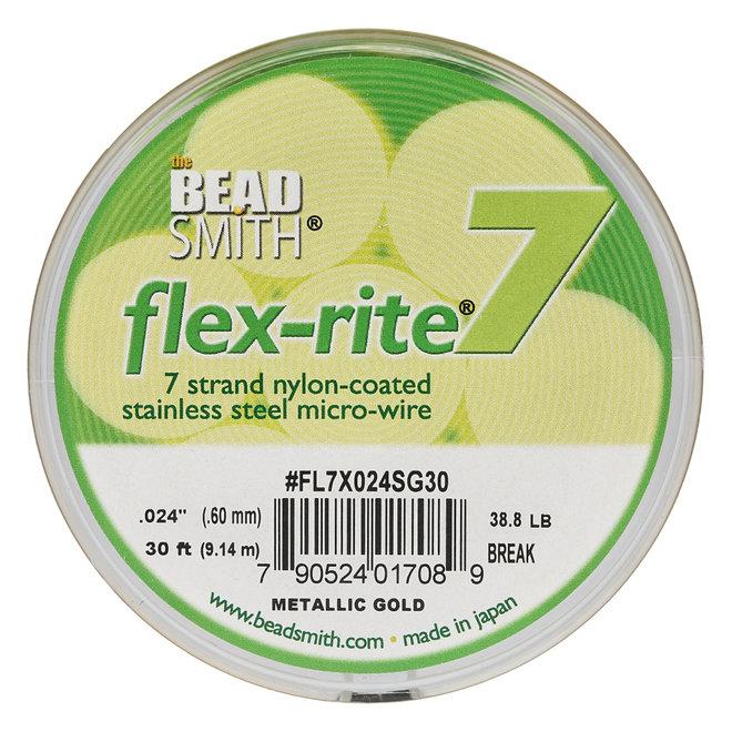 Flex-rite 7 stainless steel – couleur Metallic Gold