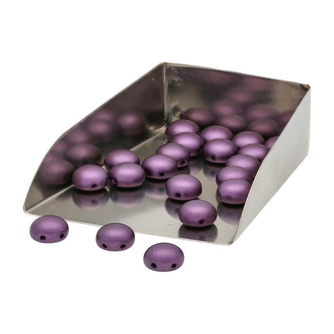 Candy Glasperle 8 mm - Pastel Bordeaux