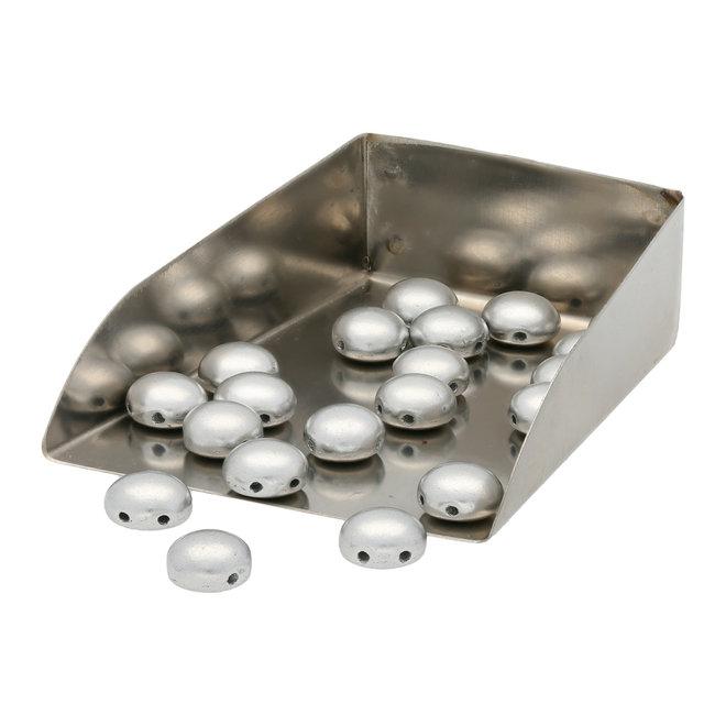 Candy Glasperle 8 mm - Aluminium Bronze