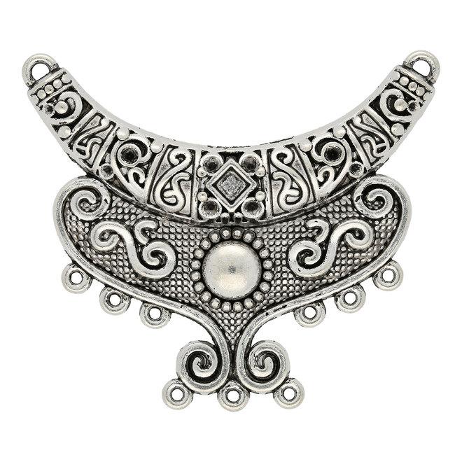 Chandelier Anhänger - Farbe antik Silber