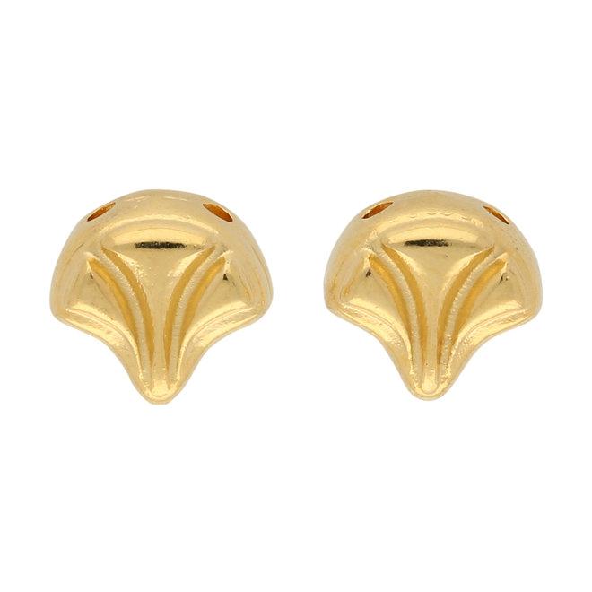 Limani-Ginko Ohrringe - Gold Plate
