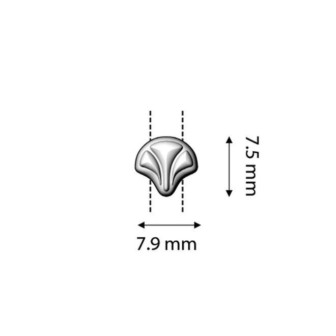 Cymbal™ Limani-Ginko Ohrringe - Silver Plate