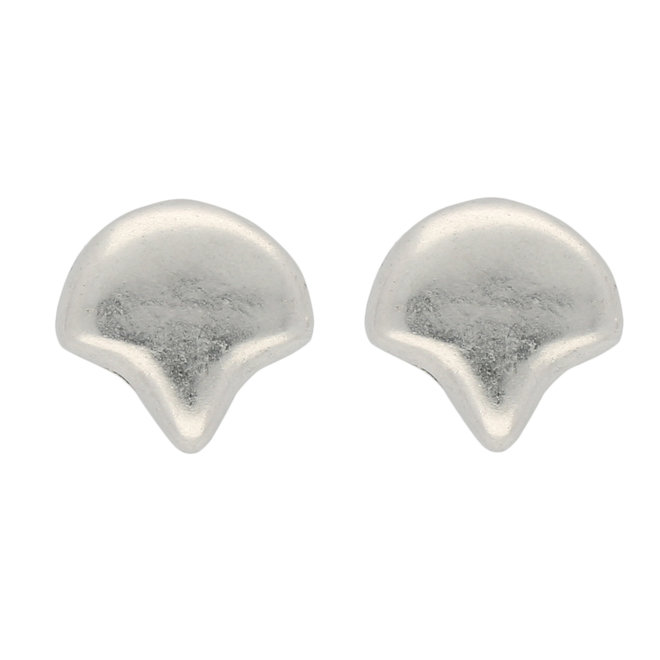 Alopronia-Ginko orecchini - Silver Plate