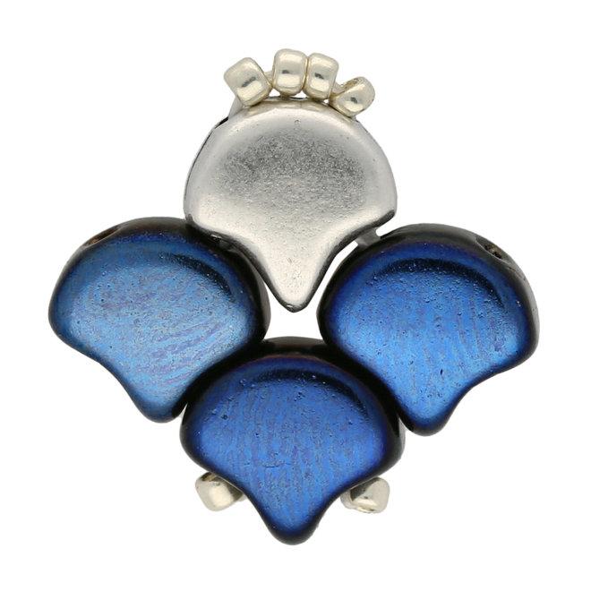 Cymbal™ Alopronia-Ginko orecchini - Silver Plate