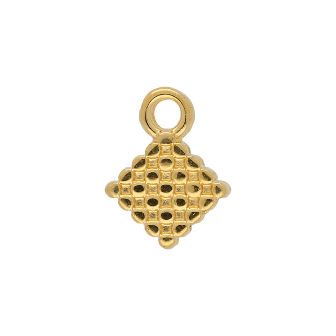Fero-Silky Side Bead Ending - Gold Plate